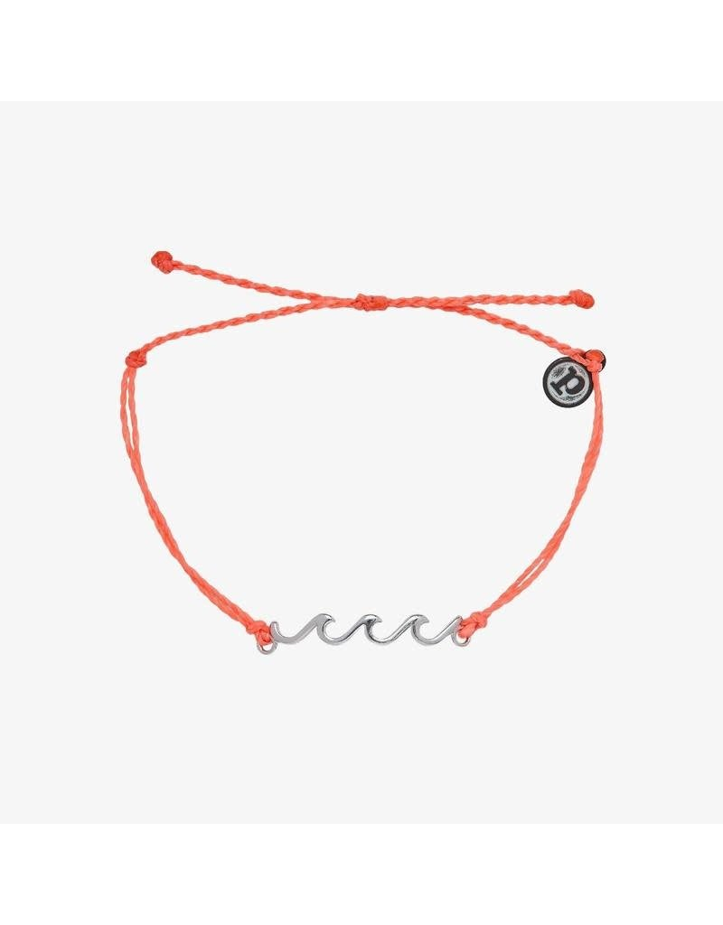 Pura Vida Bracelets Delicate Wave Bracelet