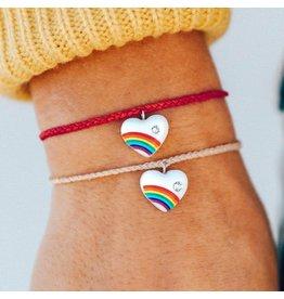 Pura Vida Bracelets Vintage Heart Charm Bracelet