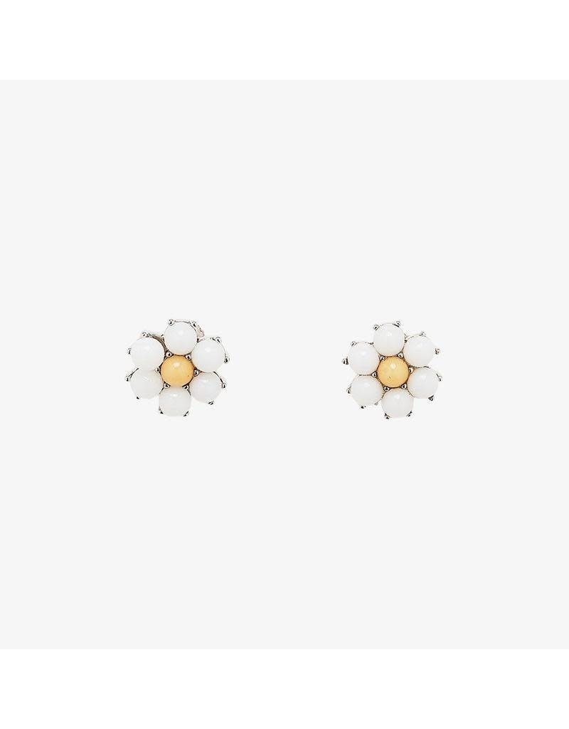 Pura Vida Bracelets Gemstone Daisy Earrings