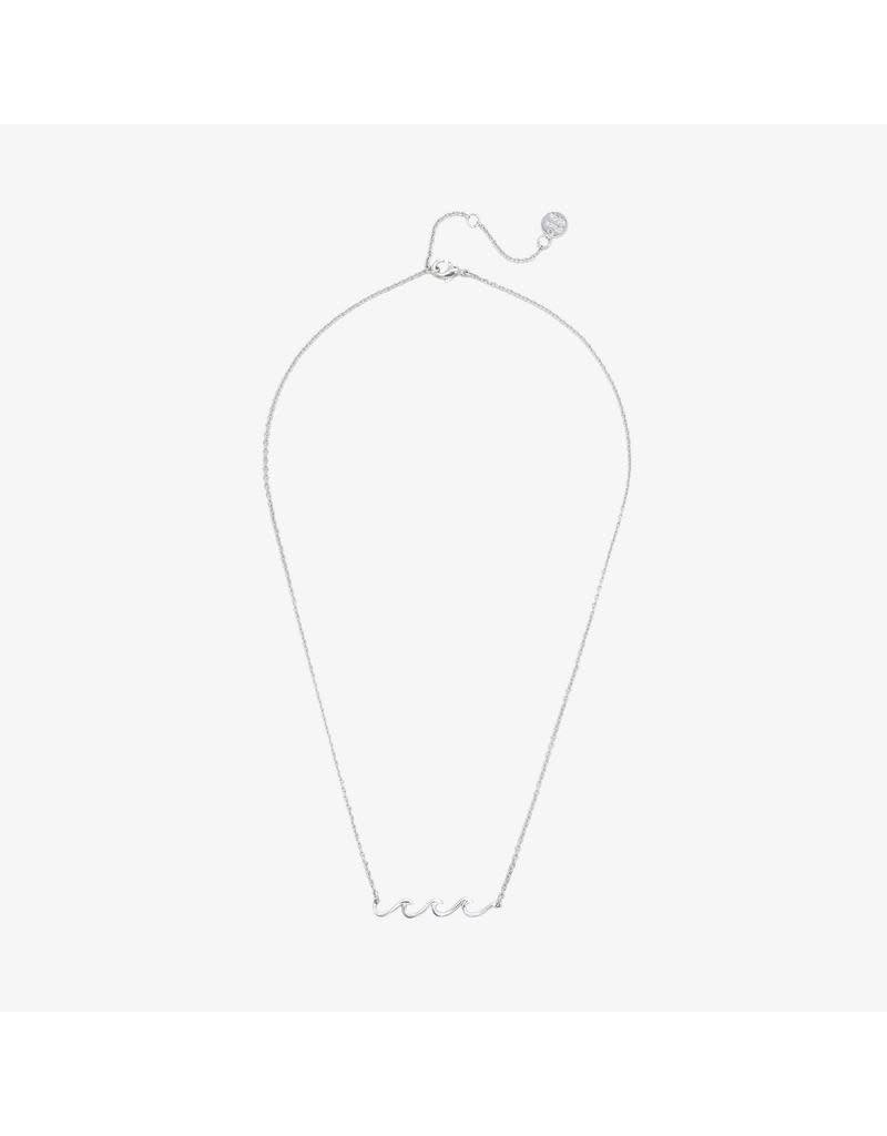 Pura Vida Bracelets Delicate Wave Necklace