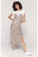 Spiritual Gangster Leopard Slip Dress