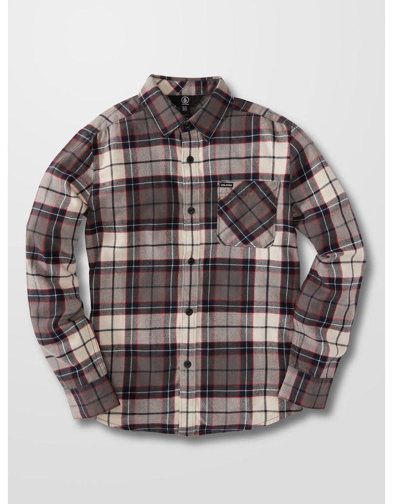 VOLCOM Big Boys Caden Plaid Flannel Shirt