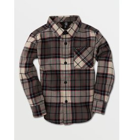 VOLCOM Little Boys Caden Plaid Flannel Shirt