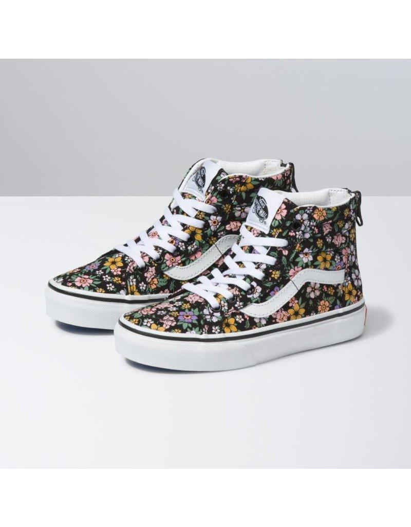 Vans Kids Fun Floral Sk8-Hi Zip