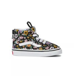 Vans Toddler Fun Floral Sk8-Hi Zip
