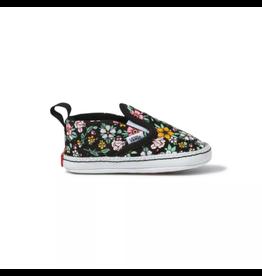 Vans Infant Fun Floral Slip-On V Crib Shoe