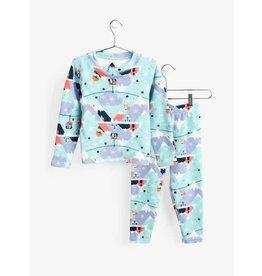 BURTON Toddler Fleece Base Layer Set