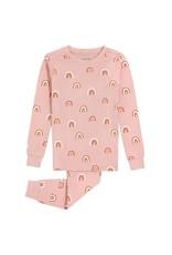 Petit Lem Kids Rainbow Print Pyjama Set