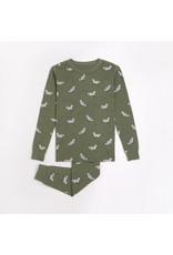 Petit Lem Kids Fox Print Pyjama Set