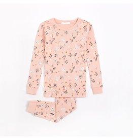Petit Lem Kids Farmyard Floral Pyjama Set