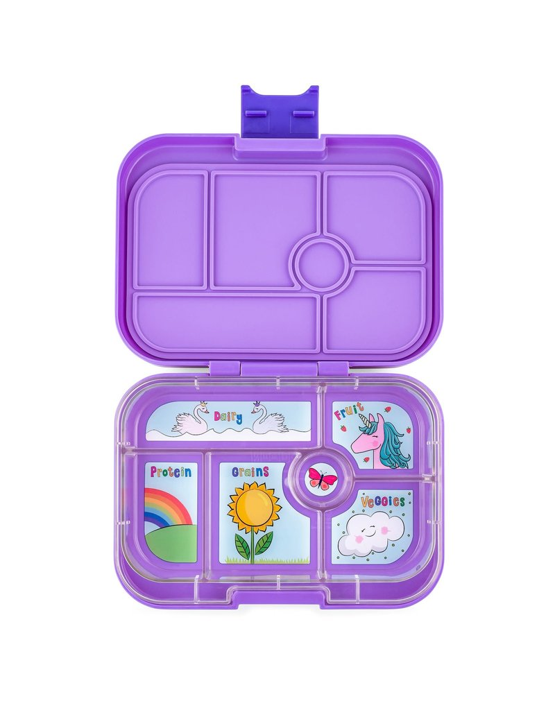 YumBox Original 6 Compartment Lunch Container