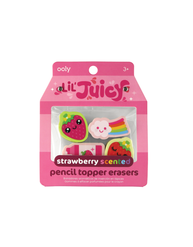 Ooly Lil' Juicy Scented Pencil Topper Erasers