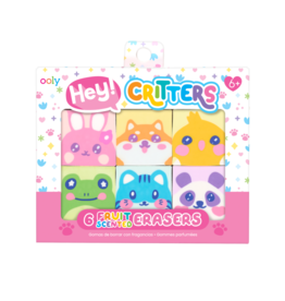 Ooly Hey Critters! Scented Erasers