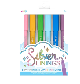 Ooly Silver Linings Outline Markers