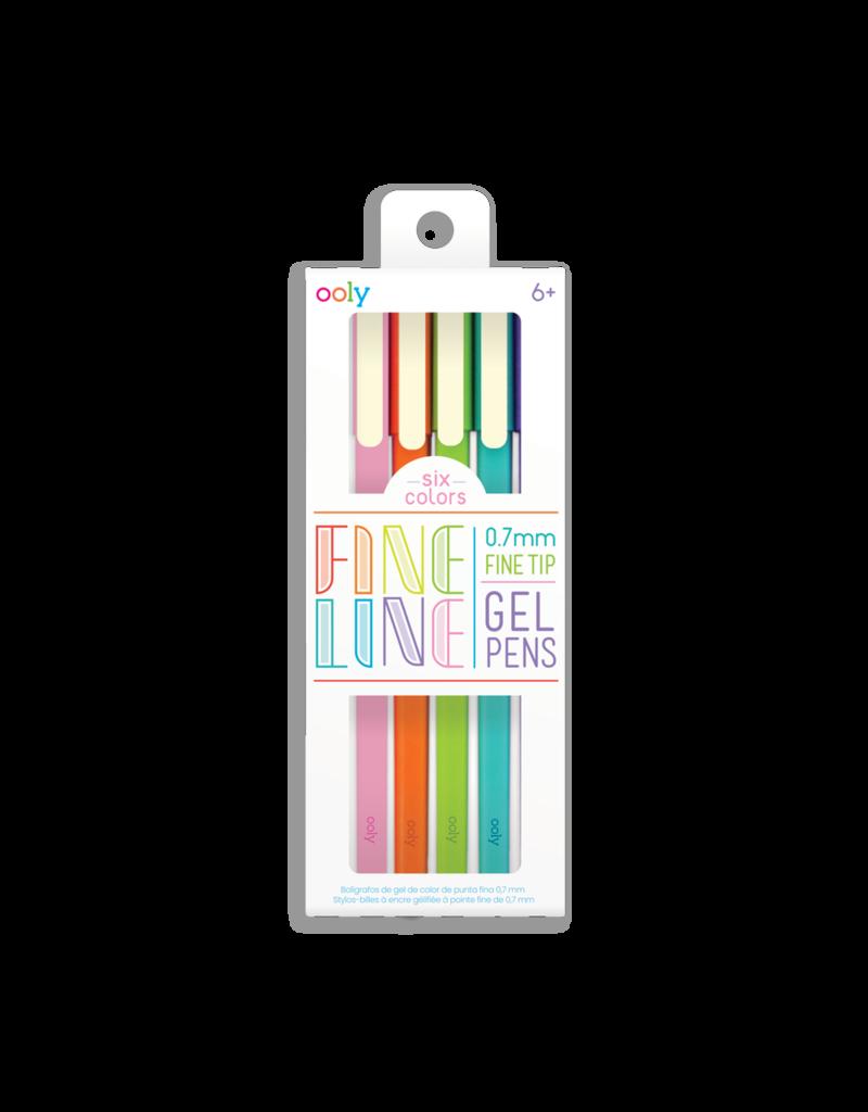 Ooly Fine Line Colored Gel Pens