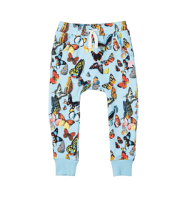 Rock Your Baby Blue Butterflies Track Pants