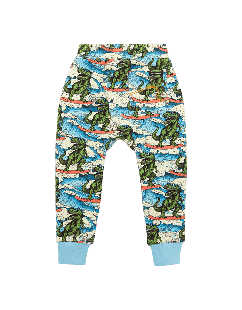 Rock Your Baby Dino Wave Track Pants