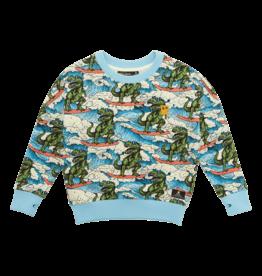 Rock Your Baby Dino Wave Sweatshirt