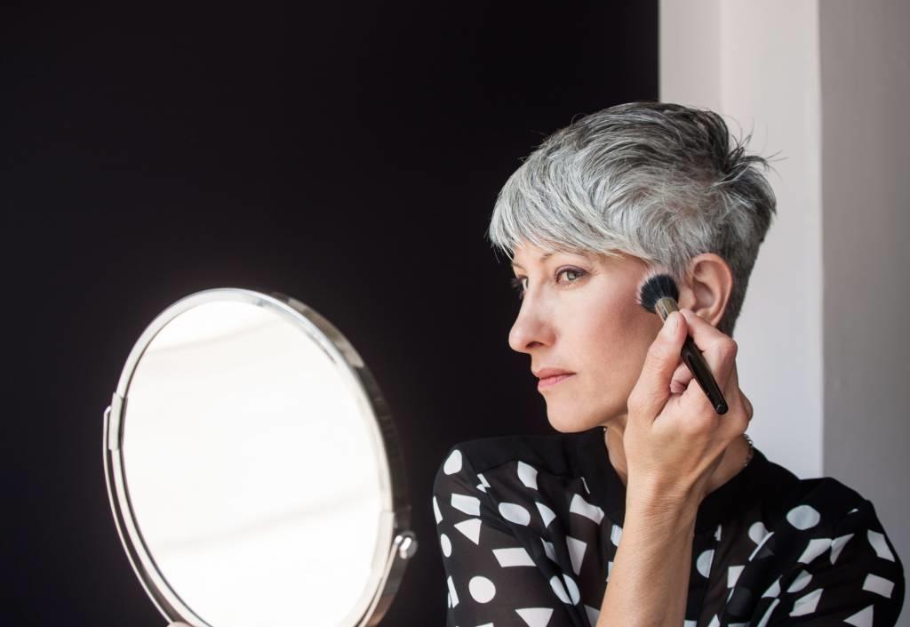 Grey Hair Glam