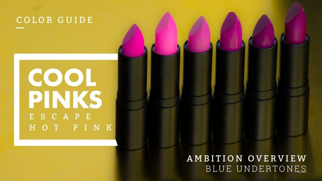 Escape Hot Pink Hell With A Cool Pink Lipstick
