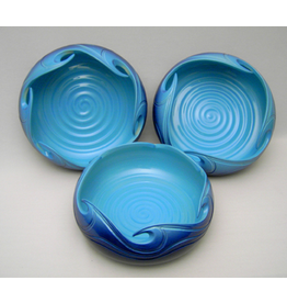 Ocean Art Pottery WAVE BOWL (Lg)