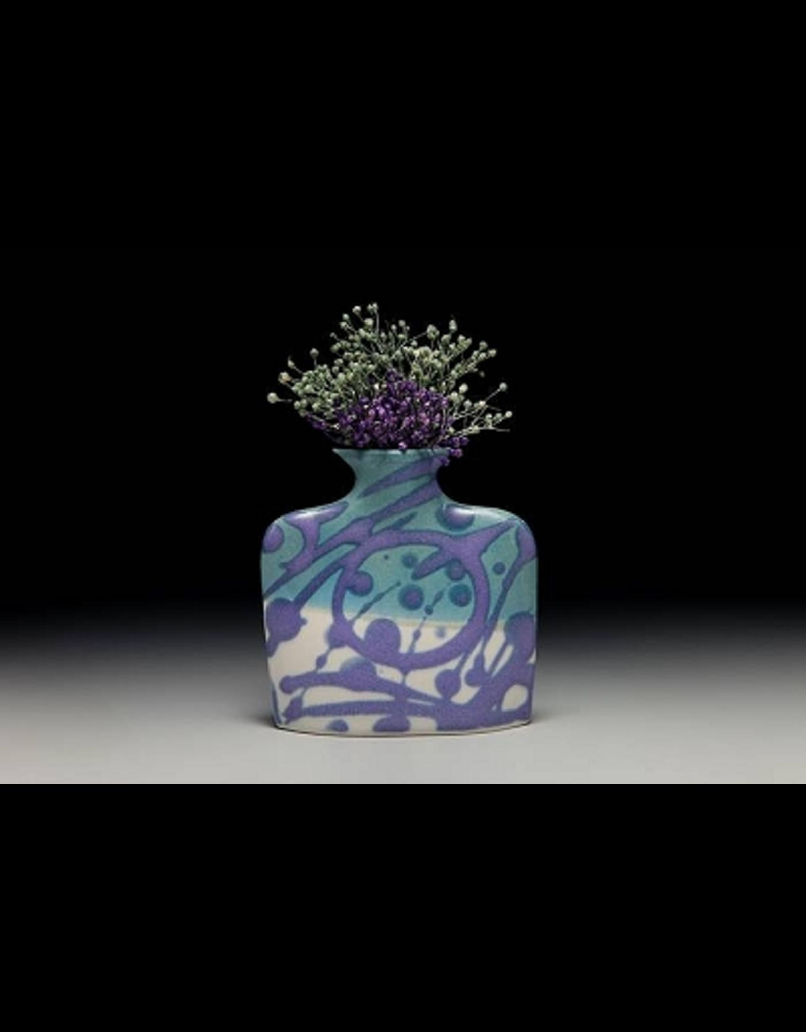 Earth & Sky Pottery Porcelain Slab Flower Vase (Sm, ESP)