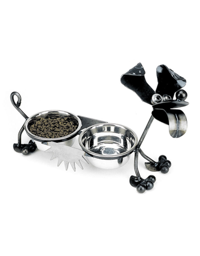 "Yardbird Pet Feeders Happy Puppy (Double 6"" Bowls)"