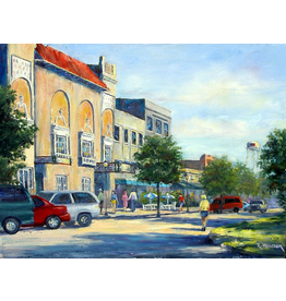 Ruthann Hewson Afternoon Along Flagler (Print, Matted, 11x14, RUTH)