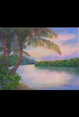 Ruthann Hewson Bessey Creek Sunset (Print, Matted, 11x14, RUTH)