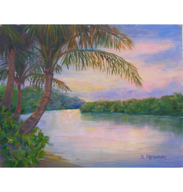 Ruthann Hewson Bessey Creek Sunset (Print, Matted, 11x14)