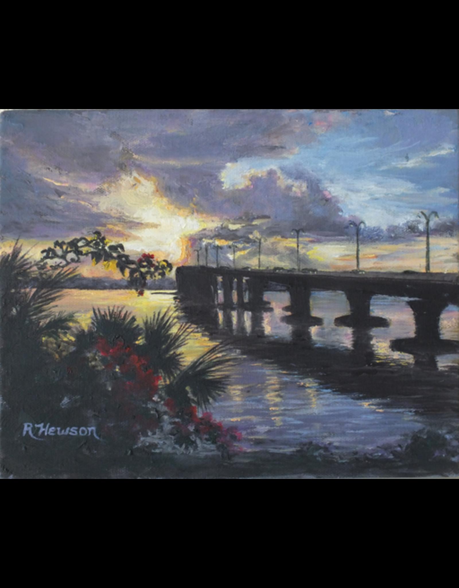 Ruthann Hewson Evans Crary Bridge (Print, Matted, 11x14, RUTH)
