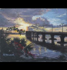 Ruthann Hewson Evans Crary Bridge (Print, Matted, 11x14)