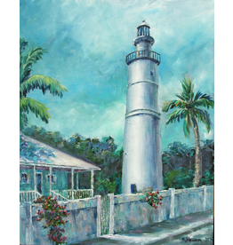 Ruthann Hewson Key West Light (Print, Matted, 11x14, RUTH)