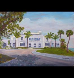 Ruthann Hewson Mansion at Tuckahoe (Print, Matted, 11x14, RUTH)
