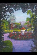 Ruthann Hewson Mrs. Smith's Garden (Print, Matted, 11x14)
