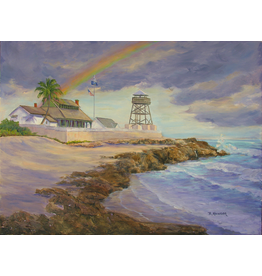 Ruthann Hewson Refuge From The Storm III (Print, Matted, 11x14, RUTH)