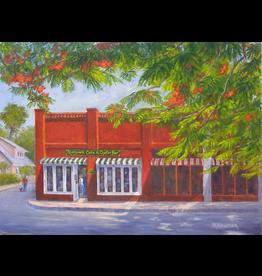 Ruthann Hewson Riverwalk Cafe (Print, Matted, 11x14, RUTH)