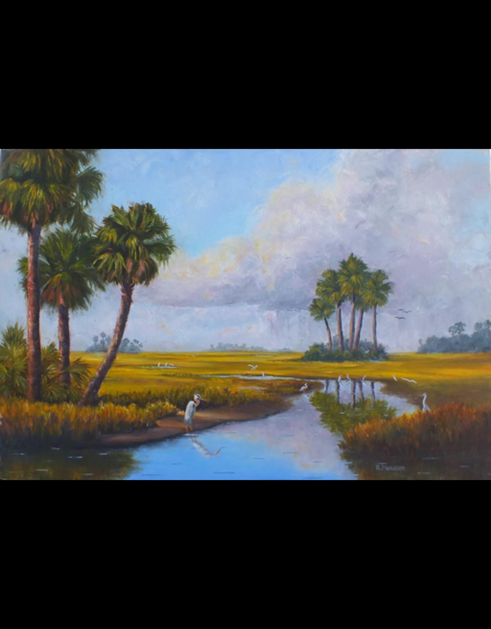 Ruthann Hewson Savannah Summer (Print, Matted, 11x14)
