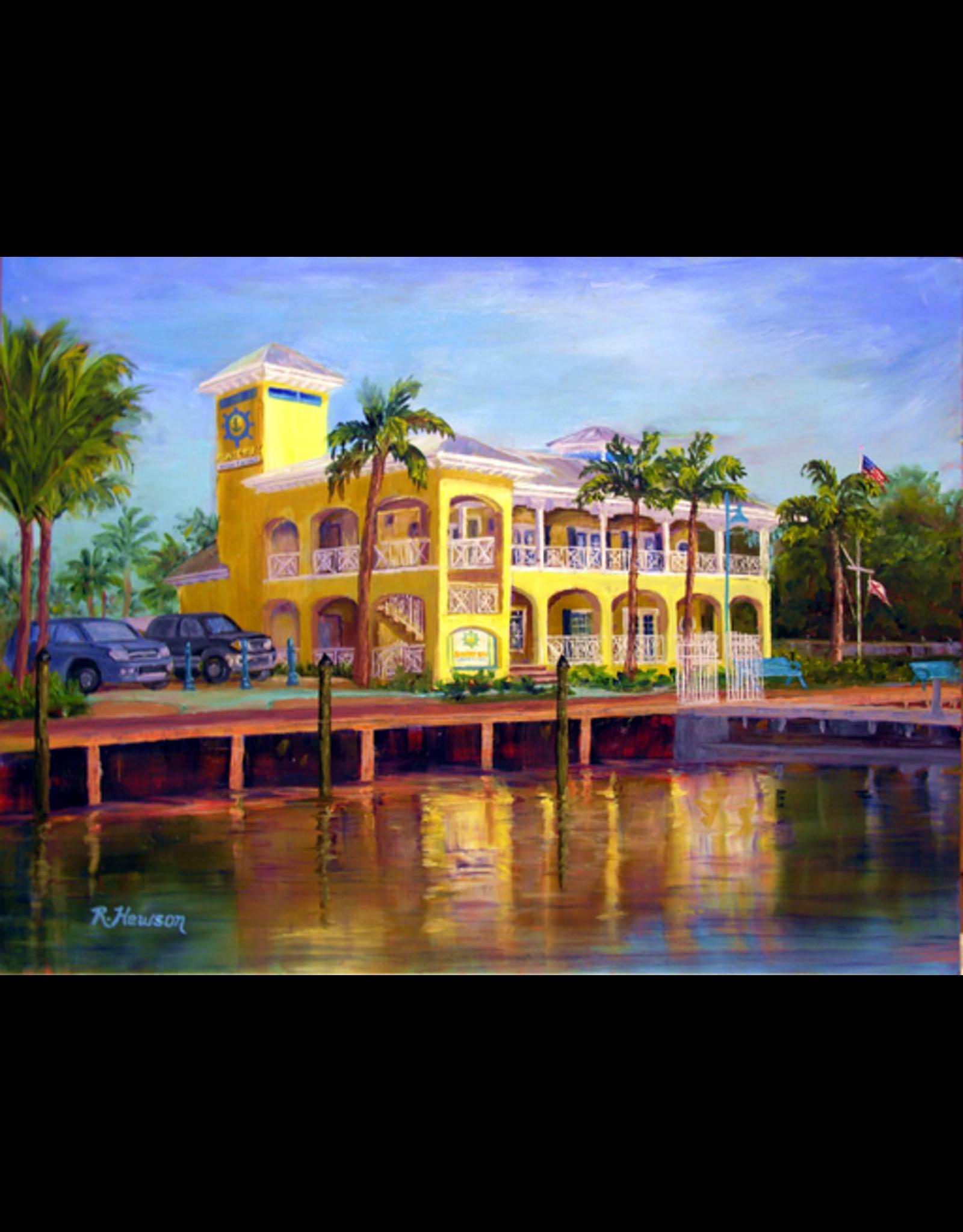 Ruthann Hewson Sunset Bay Marina (Print, Matted, 11x14)