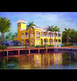Ruthann Hewson Sunset Bay Marina (Print, Matted, 11x14, RUTH)