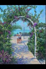 Ruthann Hewson Tropical Retreat (Print, Matted, 11x14, RUTH)