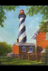 Ruthann Hewson St. Augustine Light (Print, Matted, 11x14, RUTH)