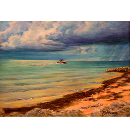 Ruthann Hewson Key Colony Beach (Print, Matted,11x14, RUTH)