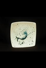 Sara Hunter Plate (BeBe Mermaid, Asst. Colors, 8.5SQ)