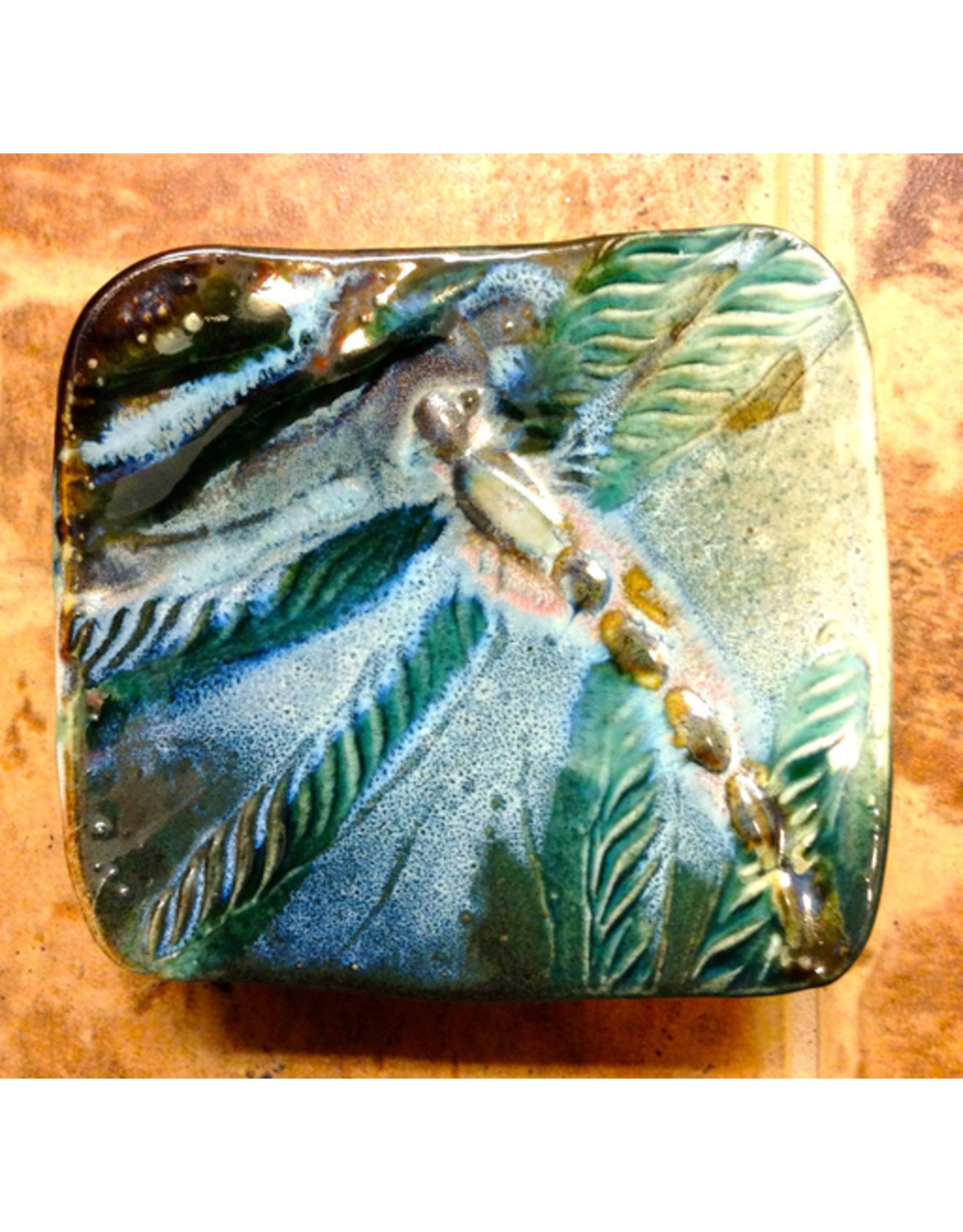"""Gail Snively PLATE, Appetizer, square, 6x6"""", GAIS"""