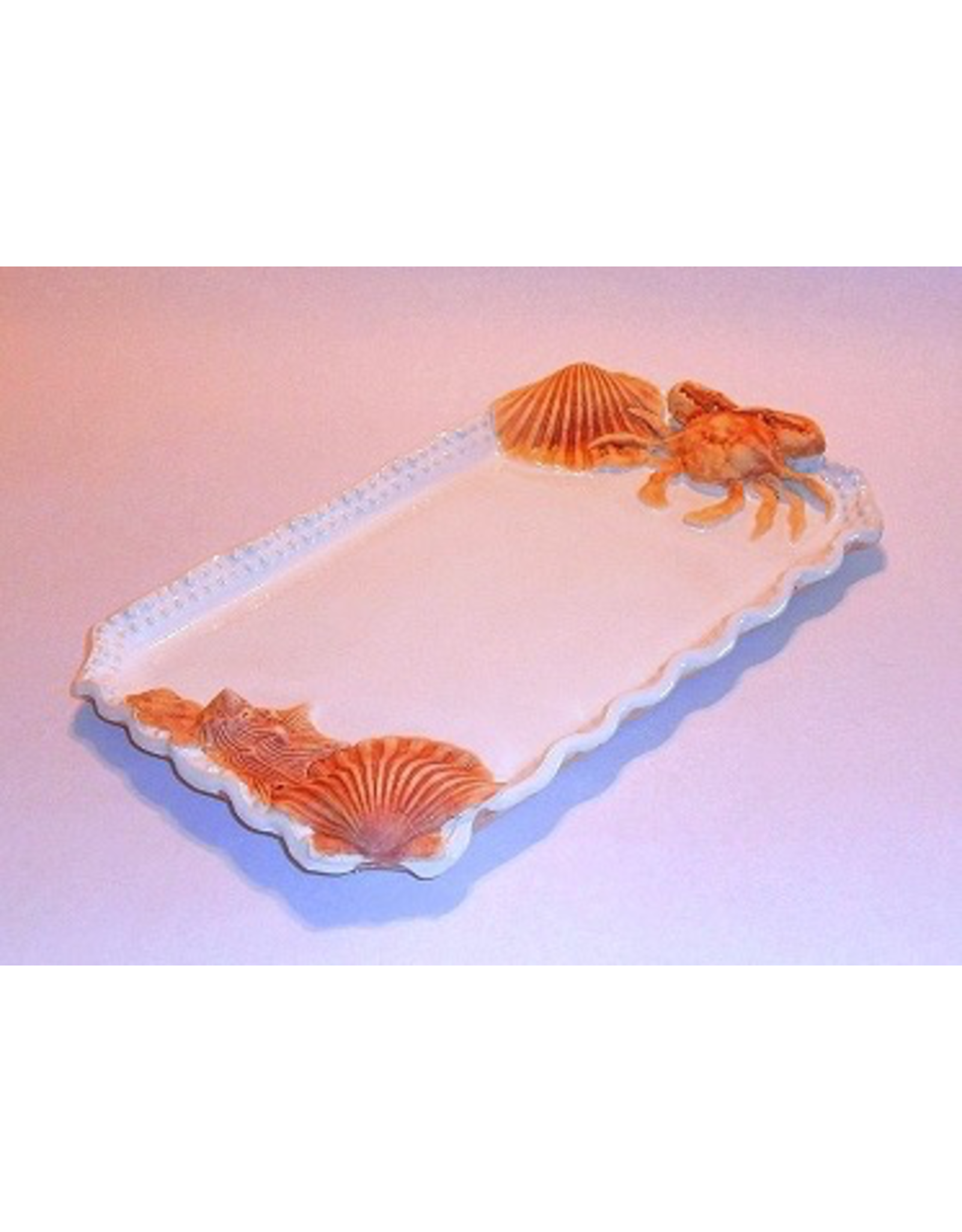 Charlestowne Porcelaine TRAY (Beaded, RECT, Md, #3)