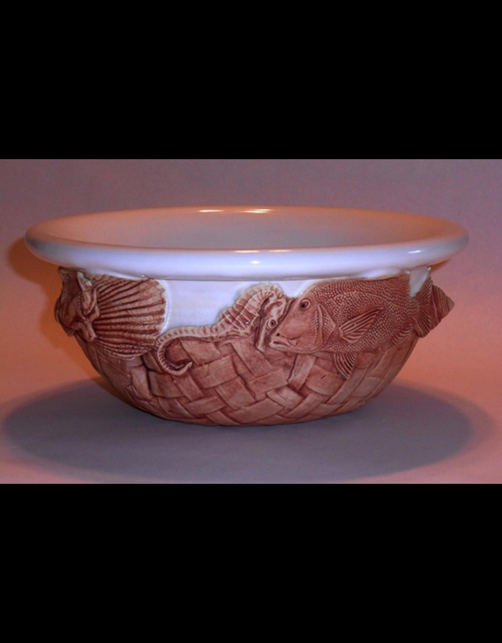 Charlestowne Porcelaine BOWL (2 Qt., Salad, RND, #31, CHAP)