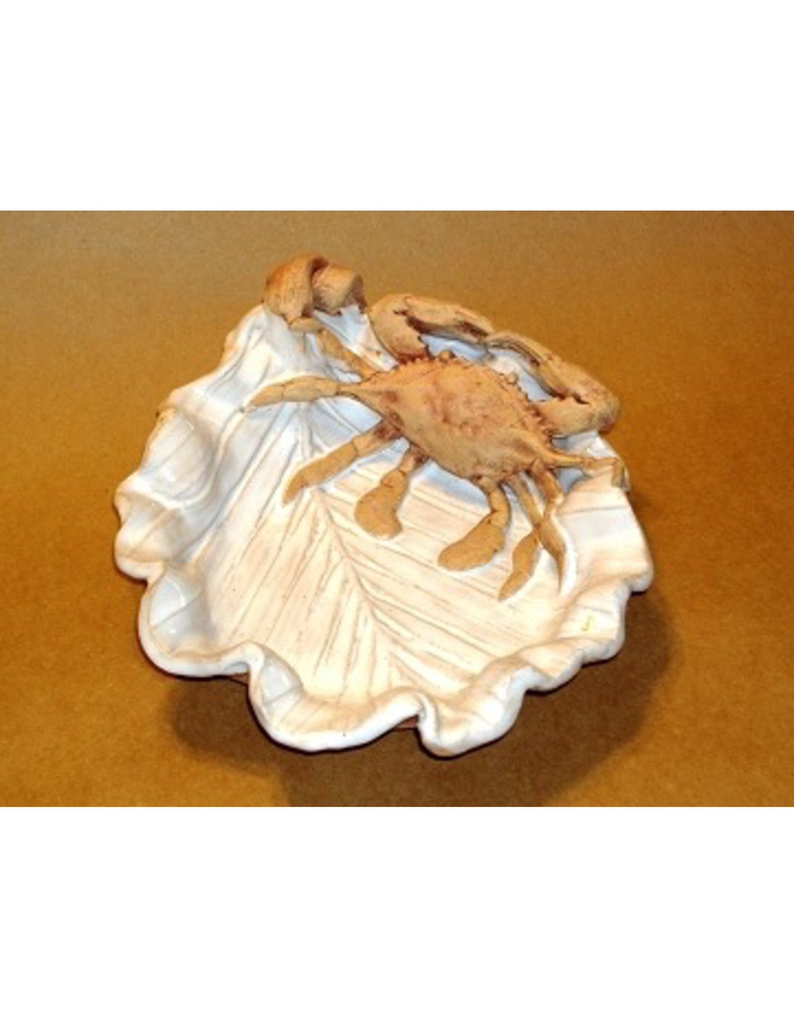 Charlestowne Porcelaine SPOONREST/SCALLOPED DISH (#1, CHAP)