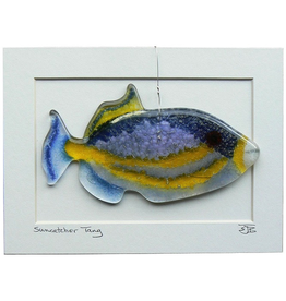 "Woven Time TRIGGERFISH (6""x3"" Suncatcher)"
