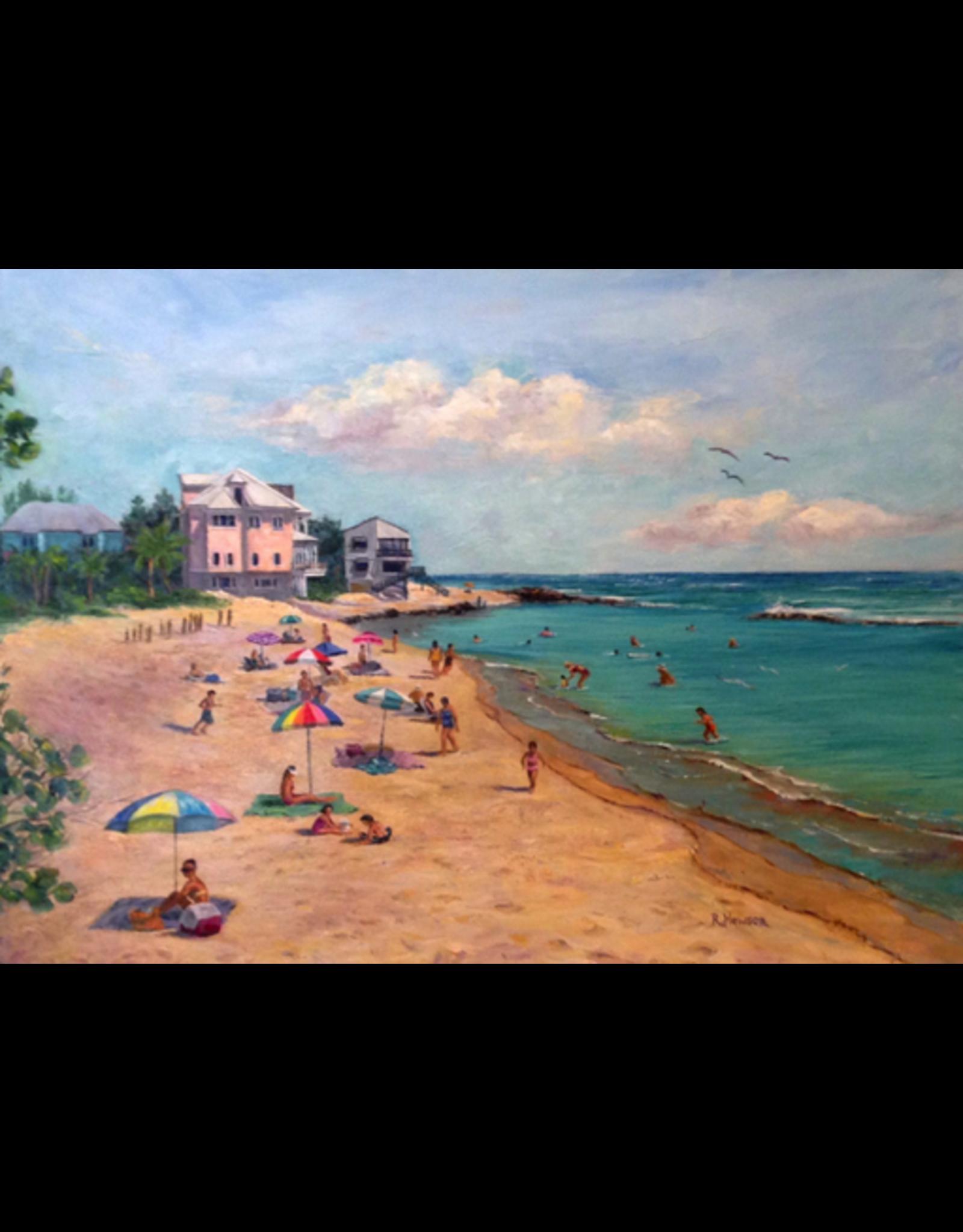 Ruthann Hewson Bathtub Beach (Print, Matted, 11x14, RUTH)